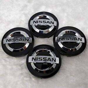 4x BLACK 54mm Wheel Center Cap FOR Nissan 370z Altima Maxima Murano 40342AU510