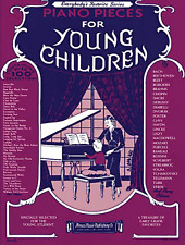 """Piano Pieces for Young Children"" PIANO/KEYBOARD MUSIC BOOK-BRAND NEW ON SALE!!"