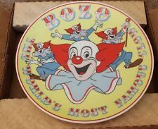 BOZO THE CLOWN COLLECTOR PLATE ROMAN COLLECTION LIMITED EDITION Larry harmon