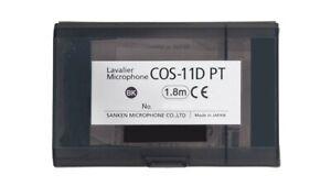 Sanken Cos 11D Pt Wireless Lavalier Microphone 1.8m Black AL