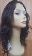 "Malky100% European Multidirectional Wavy Hair Wig 2-7 18"" SMALL"