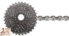 SHIMANO ALTUS CS-HG31 8 SPEED---11-34T MTB BICYCLE CASSETTE-W/ KMC X8.93 CHAIN