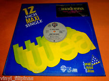 """PHILIPPINES:MADONNA - OPEN YOUR HEART 12"""" EP/LP rare! - In Fair Condition"""
