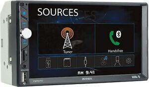 "Jensen CMR270 Bluetooth 7"" LED Touchscreen Car Stereo Receiver USB/SD AM/FM AUX"