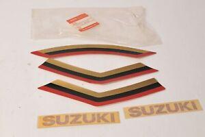 Genuine Suzuki 99950-99080 Decal Sticker Stripe Tape Emblem Set rare!