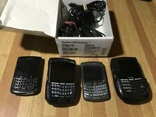 LOT OF 4 RIM BLACKBERRY Phones - 8703e, 8700g, 9700