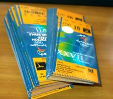 Sydney 2000 Olympic Tickets water polo event unused