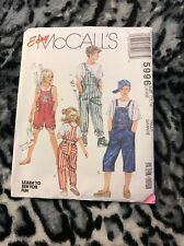 McCALL's (1992) Sewing Pattern 5996 - Size Large 10,12
