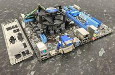 Intel Core i3-3220 @ 3.30GHz 4GB DDR3 Ram Asus P8H77-M LE LGA1155 Combo EC608