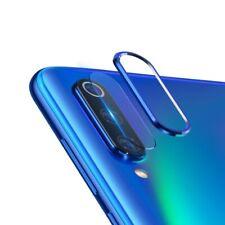 Protector lente pantalla camara anillo aluminio Xiaomi Mi 9 / 9 se AZUL