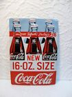 Petite plaque publicitaire Coca Cola