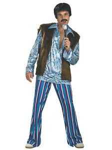 Rockstar Guy 1960s 1970s Hippie Hippy Sonny Bono Disco Retro Adult Mens Costume