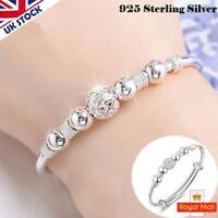 Adjustable Elegant Fashion Jewelry Crystal Silver Plated Beaded Bracelet Bangle