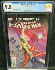 Amazing Spider-Man #21 (2016) Alex Ross Cover CGC 9.8 White Pages GG214