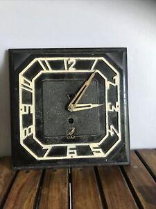 Pendule JAZ, Bakélite, Art Deco, Fonctionne