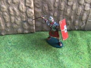 Roman infantry legionnaire. Andrea Miniatures. 54 mm metal soldier
