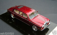 1/43 Rolls-Royce Silver Shadow II Limousine 1977 ( Transparent red )