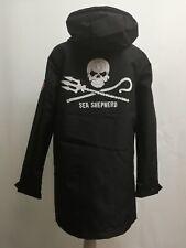 Sea Shepherd X Derbe Hamburg JF/_Stichling Regenmantel dunkelgrau