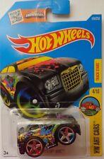 2016 Hot Wheels HW ART CARS 4/10 Chrysler 300C 194/250 (Black)(Int. Card)