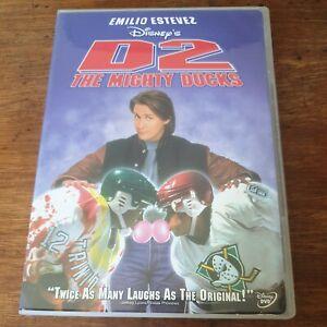 Emilio Estevez D2 The Mighty Ducks DVD Region1 VERY GOOD - FREE POST