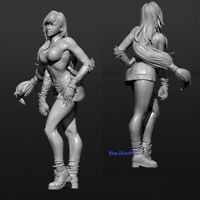 Unpainted 1/24 75mmH Final Fantasy Tifa Lockhart Resin Model Kits GK Figure New