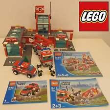 Play Gioco Game Set Mattoncini LEGO 2007 Stazione Pompieri 7945 - Fire Station -