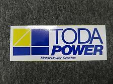 TODA POWER TODA RACING DECAL STICKER AP1 AP2 EG6 EK9 DC2 FD2 ITR CTR CRX DC5