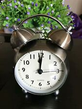 """Retro Antique Round Standing Clock 6"""" Great Gift and Room Decor"""
