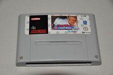 Super Nintendo Spiel Modul SNES - NFL Troy Aikman Football - American Football