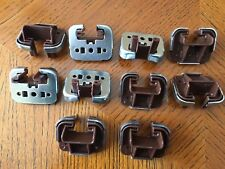 10 x Kenlin Rite-Trak I Drawer Guide Glide with Metal Support Plate, with USPS #