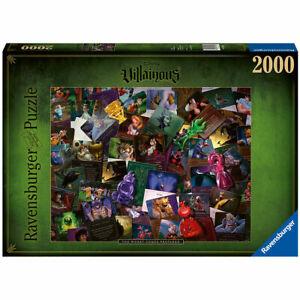Ravensburger Disney's Villainous The Worst Comes Prepared 2,000pc Jigsaw Puzzle