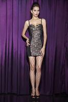 SALE!!!!!  Gold Womens Classic Flowers Cami Babydoll Dress Set(8.10.12.14)