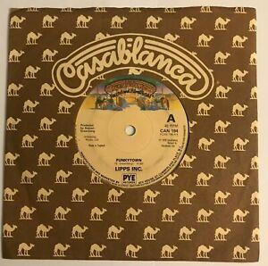 "Lipps Inc.- ""Funkytown""  7"" (1980) / ""All Night Dancing"" / Funky town /  LOG7"