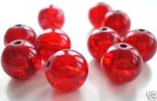 Glass & Lampwork Jewellery Making Red Beads