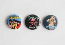 "3 1"" The Goonies - pinback badges buttons"