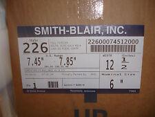 "New Smith Blair 226 6"" X 12.5"" Full Circle Repair Clamp 12.5"" w 22600074512000"