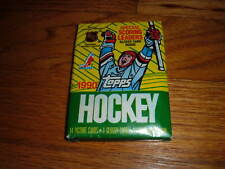 1990-1991 TOPPS Hockey Trading Card Pack UNOPENED New Sports Collectible Gift