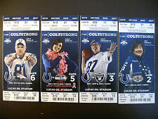 Indianapolis Colts 2013 Nfl ticket stubs - One ticket