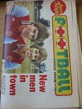 1979/1980 Birmingham evening mail Sports ARGUS: CALCIO-ANNO-quotidiano Styl