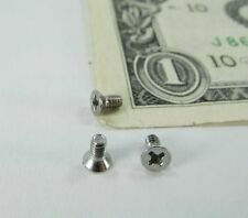 "Lot 300 Tiny #2-56 Stainless Steel Screws Phillips Flat Head #2 x 3/16"" Hardware"