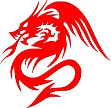 "Dragon Vinyl Car Decals Stickers Graphics (10"" x 10"" Facing Left) Design11"