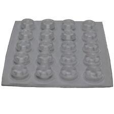 20 Klebepuffer Gummipuffer Türpuffer transparent selbstklebend Puffer Möbel