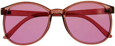 (10 Colors) Color Therapy Glasses ROUND Style Sunglasses