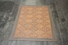 "Beautiful Primitive 30""x6' floorcloth! Expertly hand-crafted at a great price!!"