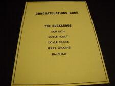BUCK OWENS Buckaroos 1970 promo ad DON RICH Doyle Holly DOYLE SINGER Jerry & Jim