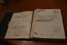Caterpillar Cat D35Hp D400 Articulated Dump Trucks Service Manuals