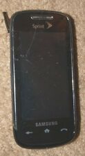 Samsung SPH M810 Fair Used Sprint Cell Phone Color Camera Fast Shipping