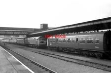 PHOTO  CLASS 47 DIESEL47507 &  M50337 AT WORCESTER SHRUB HILL ON 01/10/79.