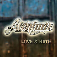 DAMAGED ARTWORK CD Aventura: Love & Hate