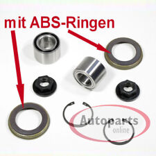 Ford Fiesta 5 V - 2 Piece Wheel Bearing Set ABS Rings for Rear Axle